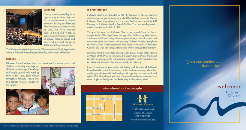 Welcome Brochure